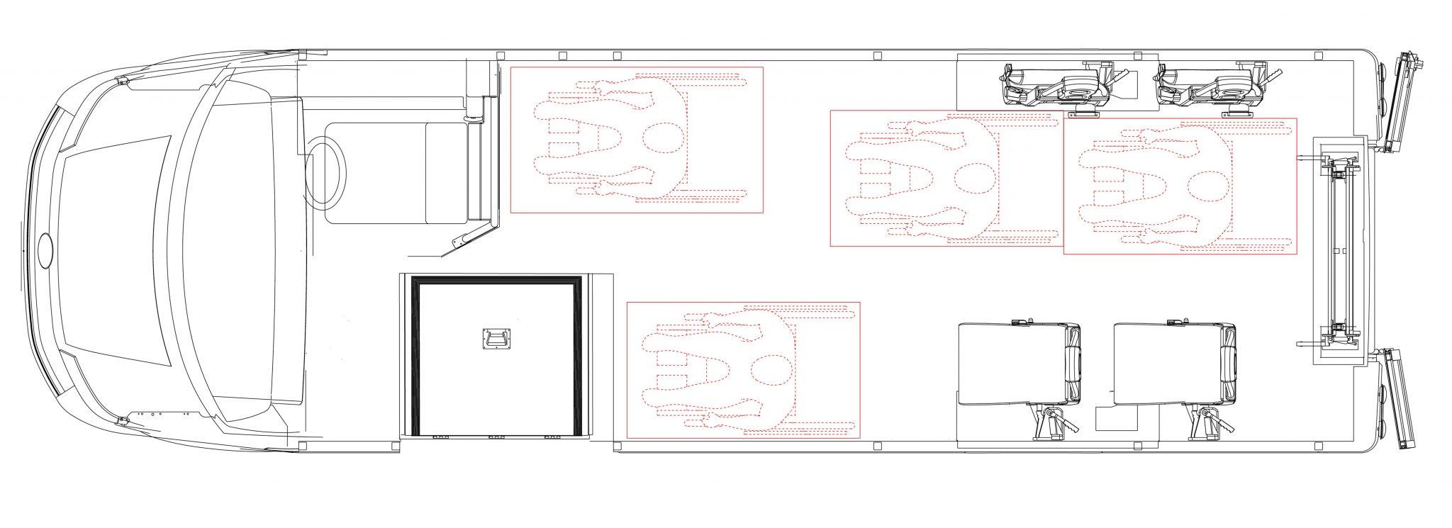 Tucana 4 wc + 2s layout
