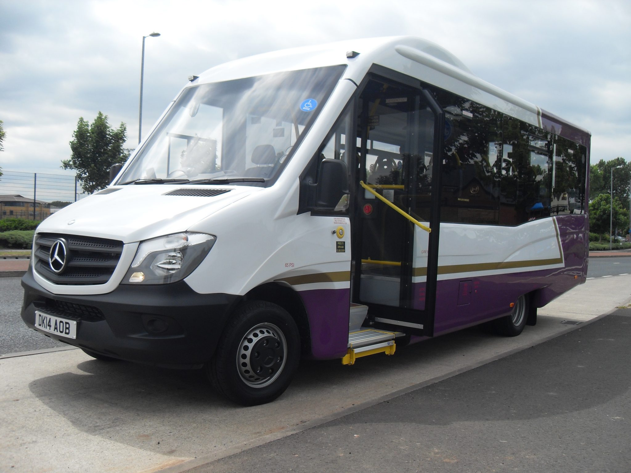 Mercedes Benz Sprinter Minibus Conversion Mellor Coachcraft