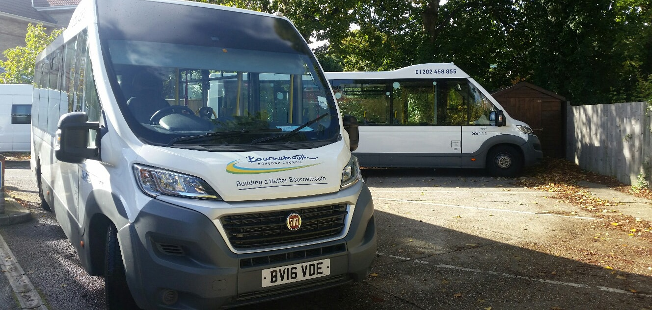 Two Mellor Orion Plus Accessible Vehicles for Bournemouth